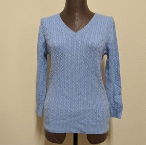 3 for $20 blue sweater v neck small
